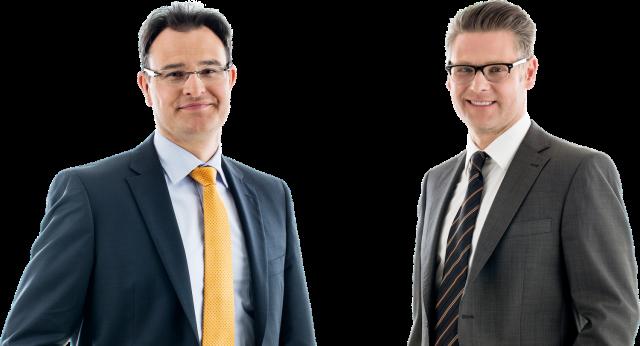 Die Anwälte und Datenschutzbeauftragten Fouquet und Stigler der Metropoldata